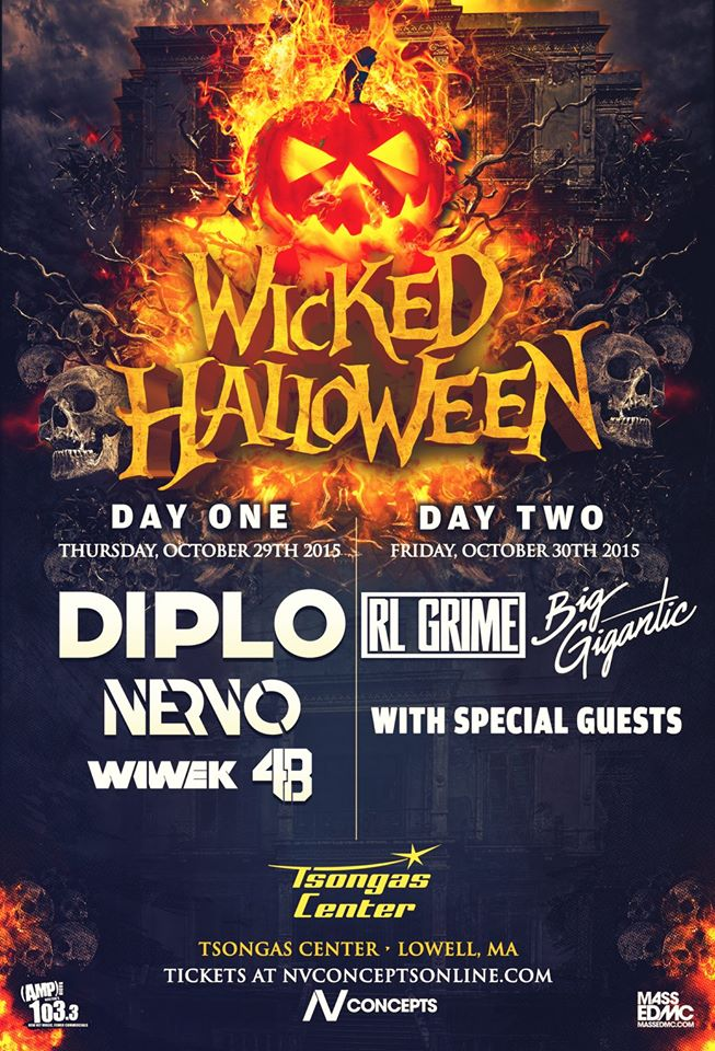 wicked halloween brings big names to the northeast diplo rl grime halloween party theme ideas great