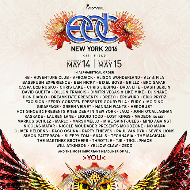 Edc New York 2020 Insomniac Reveals VIP Offerings for 5th Annual EDC NY | The